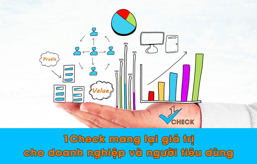 1Check - Giải pháp xác thực sản phẩm hiệu quả cho người tiêu dùng