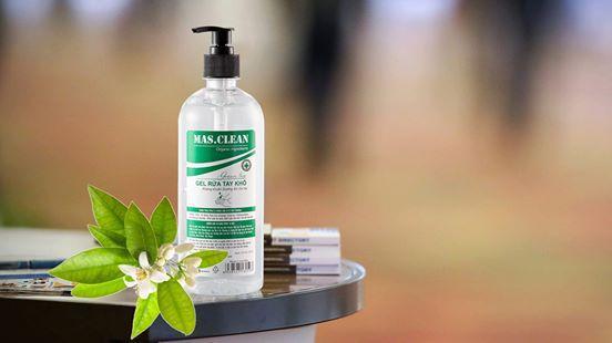 Gel rửa tay khô Mas.Clean (Chai 635 ML)