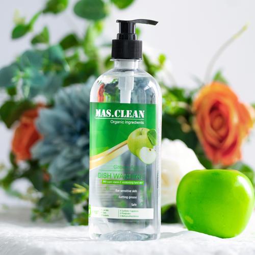 Nước rửa chén hương táo xanh (Chai 635ML - Set 12 chai)