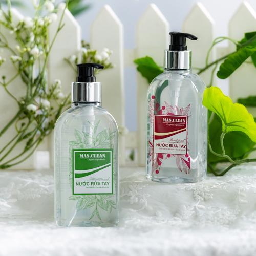 Nước rửa tay Mas.Clean, chai 300ml (SET 15 chai)