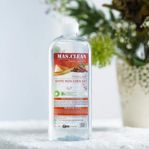 Nước rửa chén hương quế (Chai 720ML - Set 20 chai)