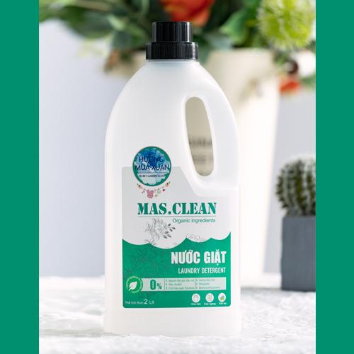 Nước giặt Mas. Clean Hương mùa xuân (Chai 2L - Set 6 chai)