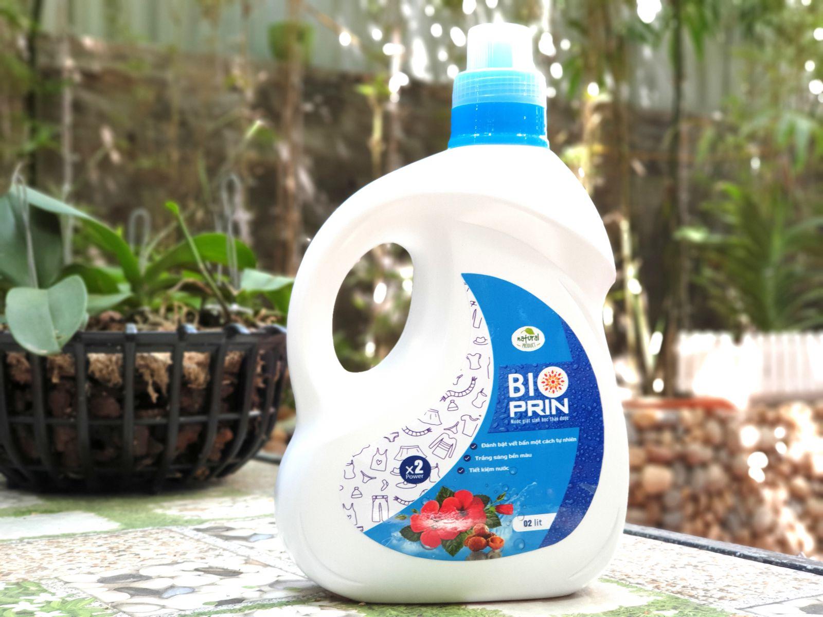 Nước giặt sinh học thảo dược BIOPRIN