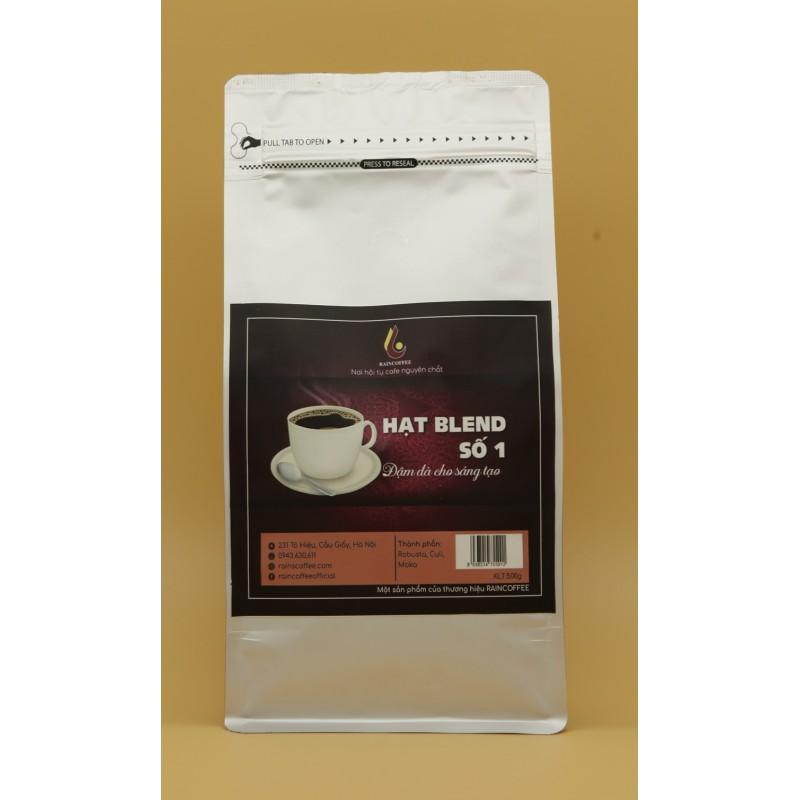 Cà phê bột RainCoffee - Gu Blend 1, gói 1kg (Set 20 gói)