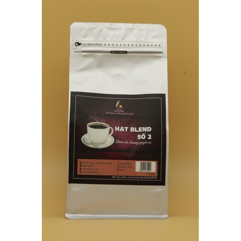 Cà phê bột RainCoffee - Gu Blend 2, gói 1kg (Set 20 gói)