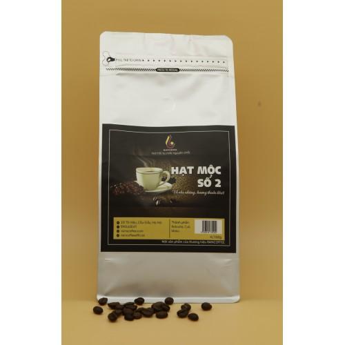 Cà phê bột RainCoffee - Gu Mộc 2, gói 1kg (Set 20 gói)