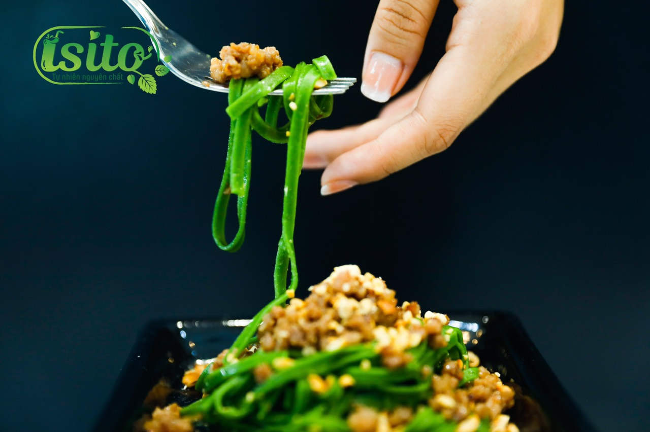 Mì cải kale isito