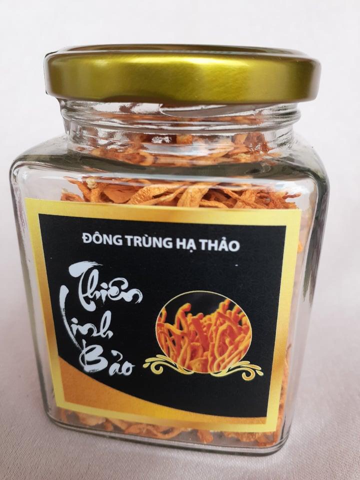 Đông trùng hạ thảo khô Thiên Linh Bảo, hộp 500gr